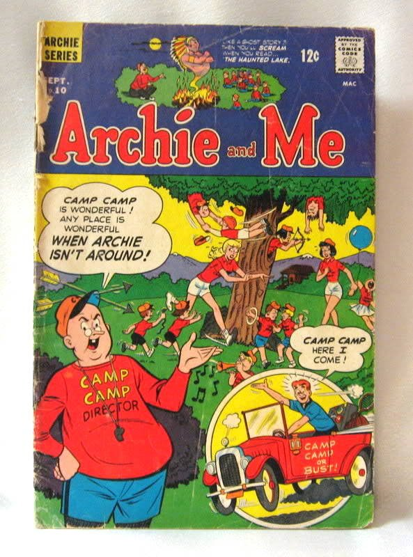 Archie And Me #10 Comic Book Vintage 1966
