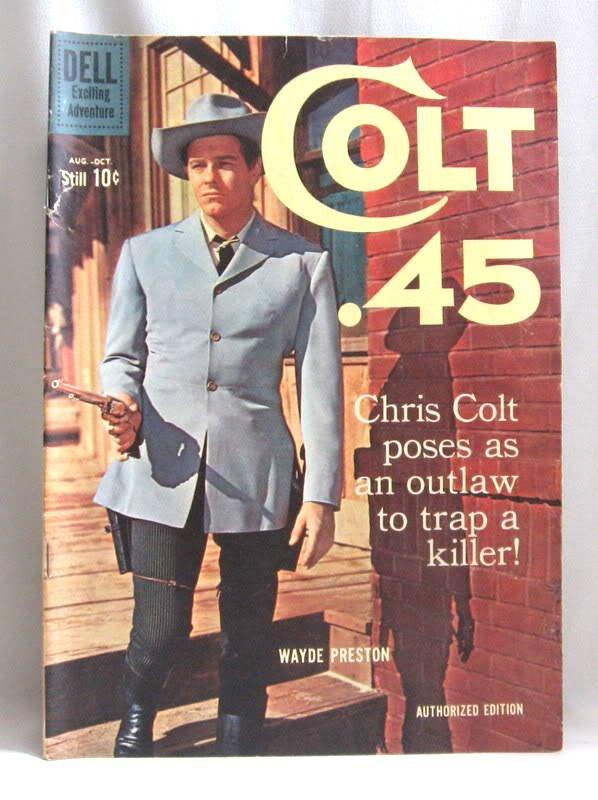 Vintage Colt .45 #6 Comic Book 1960 Wayde Preston Rare