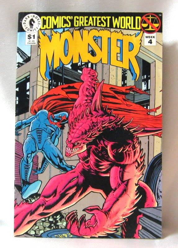 Comics Greatest World Monster Comic Book Week 4 July 1993