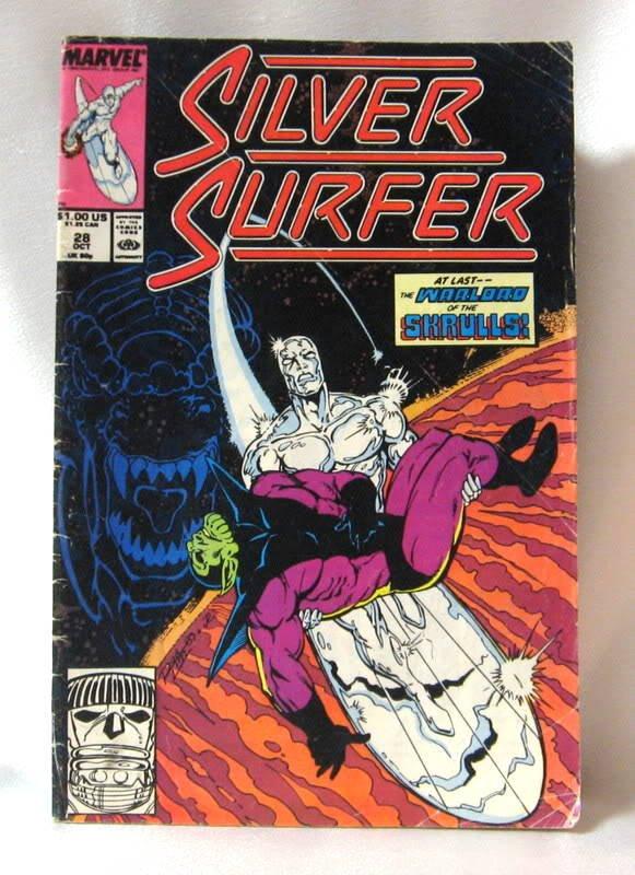 Silver Surfer Comic Book Vol. 3 #28 October Marvel Comics 1989