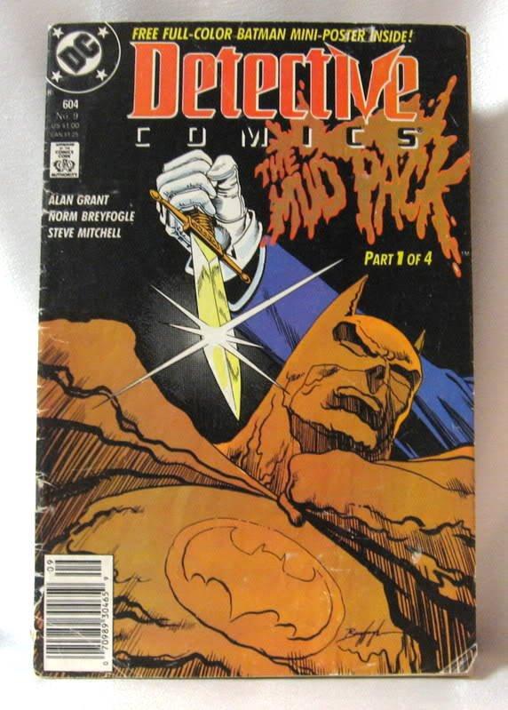 Comic Book 1989 Detective Comics The Mud Pack 604 No. 9