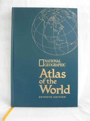 National Geographic Atlas Of The World 7th Edition Huge Hardcover Book 1999