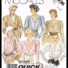 Vintage McCall's Sewing Pattern No. 3236 Quick & Easy Blouses Misses Sizes 14-18