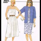 Vintage Butterick Sewing Pattern No. 6526 Misses Jacket & Dress Size 8-12 Fast & Easy
