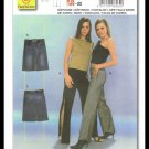 Young Fashion Burda Sewing Pattern #8562 Pants & Skirt Plus Size 22
