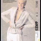 Misses Jacket McCall's Sewing Pattern No. 6925 Sizes 8 to 12 Vintage Retro