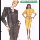 Misses Dress Very Easy Very Vogue Sewing Pattern #7577 Sizes 14 16 18 Vintage 1989