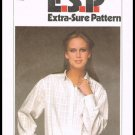 Vintage 1979 Misses Shirt Simplicity Sewing Pattern No. 8911 Sizes 12 to 16
