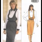 Misses Jumper Dress & Top Butterick Sewing Pattern No. 4980 Sizes 12 to 16