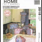 McCall's Sewing Pattern No. 2018 Home Decorating Kitchen Toaster Cover Valance Chair Cushion & More
