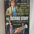 The Luciano Story Sid Feder Joachim Joesten Vintage 1962 Softcover Book