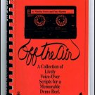Off The Air Voice Over Scripts Book Martha Porter & Peter Bareiss