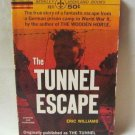 The Tunnel Escape Eric Williams True Story German Prison Camp Softcover Book Vintage 1963