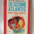 The Second Atlantis Robert Moore Williams Vintage Softcover Book 1965