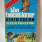 Don Pendleton The Executioner Death Squad Softcover Book Vintage 1971