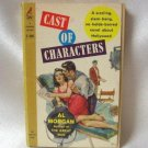 Cast Of Characters Al Morgan Vintage Softcover Book 1958