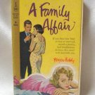 A Family Affair Roger Eddy Vintage Softcover Book 1959