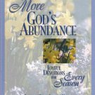 More God's Abundance Joyful Devotions For Every Season Kathy Collard Miller Hardcover Book