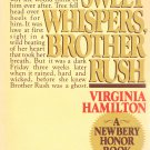 Sweet Whispers Brother Rush Virginia Hamilton Softcover Book For Young Adults Vintage 1983