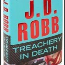Treachery In Death J.D. Robb Hardcover Book Nora Roberts 2011