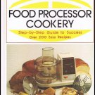 Food Processor Cookery By Margaret Deeds Murphy Hardcover Book Vintage 1978