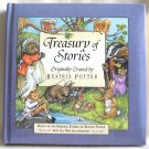 Treasury Of Stories Beatrix Potter Thick Padded Hardcover Book Oddity Error Unique