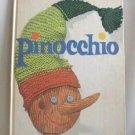 Pinocchio C. Collodi Allen Chaffee Large Hardcover Book Vintage Retro