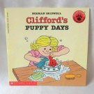 Clifford's Puppy Days By Norman Bridwell Softcover Book Children