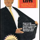 David Letterman's Book Of Top Ten Lists And Zesty Lo Cal Chicken Recipes Hardcover Book