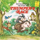 Walt Disney Presents The Story Of Thumper's Race Softcover Book Vintage 1970