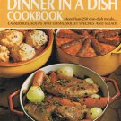 Betty Crocker's Dinner in A Dish Cookbook Hardcover Book Vintage 1971
