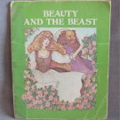 Beauty And The Beast By Karen Milone Softcover Book Vintage 1981