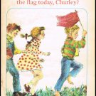Did You Carry The Flag Today Charley By Rebecca Caudill Softcover Book Vintage