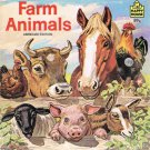 Farm Animals By Hans Helweg Softcover Book Vintage 1983 Children