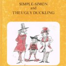 Simple Simon And The Ugly Duckling Hans Christian Andersen Hardcover Book Vintage