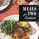 Meals For Two Cookbook Culinary Arts Institute Ruth Berolzheimer Vintage 1953
