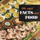 2000 Useful Facts About Food Ruth Berolzheimer Culinary Arts Institute Vintage Softcover Book 1952