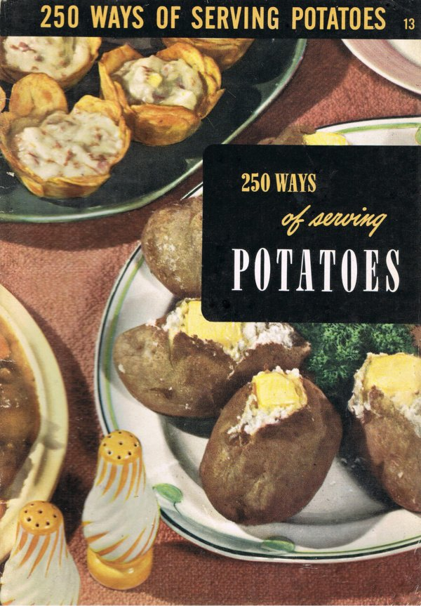 250 ways of serving potatoes by ruth berolzheimer culinary for Armenian cuisine cookbook