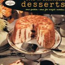 Good Housekeeping&#39;s Book Of Delectable Desserts Cookbook Some Quickies Weight Watchers Vintage 1958