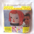 Bernat Doll Face Cap Knitting Kit Vintage Craft Yarn