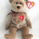 1999 Signature Bear Ty Beanie Baby Retired