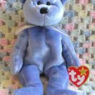 Clubby II Bear Ty Beanie Baby Retired 1999