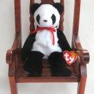 Fortune The Panda Bear Ty Beanie Baby Retired 1999