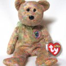 Speckles The Bear Ty Beanie Baby Retired 2002