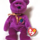 Millennium Bear Ty Beanie Baby Retired 1999
