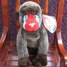 Cheeks The Baboon Ty Beanie Baby Retired 1999