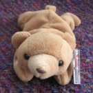 Cubbie The Tan Bear Ty Beanie Baby 4th Generation Hang Tag Retired 1997