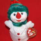 Snowgirl The Snowman Ty Beanie Baby Retired 2000