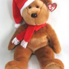 1997 Holiday Teddy Bear Ty Beanie Buddy Retired Large 14 Inch