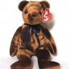 Brown Teddy Bear TED-e Ty Beanie Baby Retired 2002
